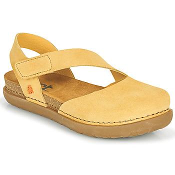 kengät Naiset Balleriinat Art RHODES Keltainen