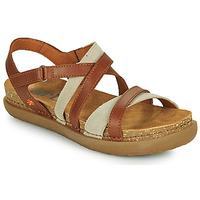 kengät Naiset Sandaalit ja avokkaat Art RHODES Ruskea
