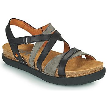 kengät Naiset Sandaalit ja avokkaat Art RHODES Musta