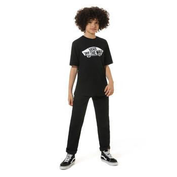 vaatteet Lapset Lyhythihainen t-paita Vans VANS CLASSIC TEE Musta