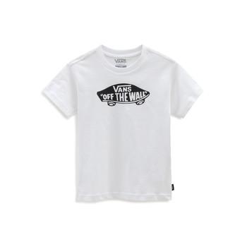 vaatteet Lapset Lyhythihainen t-paita Vans VANS CLASSIC TEE Valkoinen