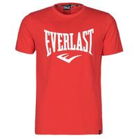 vaatteet Miehet Lyhythihainen t-paita Everlast EVL- BASIC TEE-RUSSEL Red