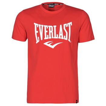 vaatteet Miehet Lyhythihainen t-paita Everlast EVL- BASIC TEE-RUSSEL Punainen