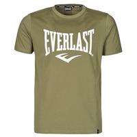 vaatteet Miehet Lyhythihainen t-paita Everlast EVL- BASIC TEE-RUSSEL Kaki