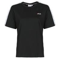 vaatteet Naiset Lyhythihainen t-paita Fila JAKENA Musta