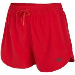 vaatteet Naiset Shortsit / Bermuda-shortsit 4F SKDT004 Punainen