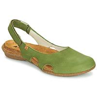 kengät Naiset Sandaalit ja avokkaat El Naturalista WAKATAUA Vihreä