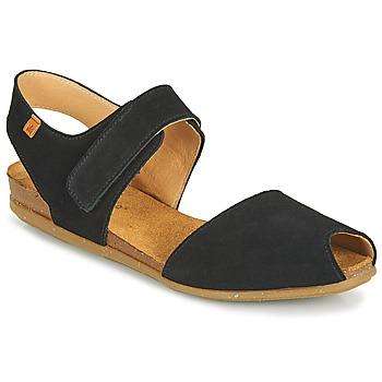 kengät Naiset Sandaalit ja avokkaat El Naturalista STELLA Musta