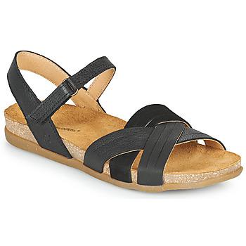 kengät Naiset Sandaalit ja avokkaat El Naturalista ZUMAIA Musta