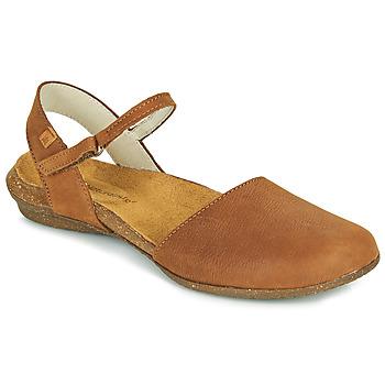 kengät Naiset Sandaalit ja avokkaat El Naturalista WAKATAUA Ruskea