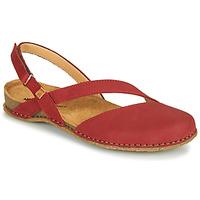 kengät Naiset Sandaalit ja avokkaat El Naturalista PANGLAO Punainen