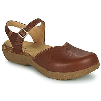 kengät Naiset Sandaalit ja avokkaat El Naturalista WAKATIWAI Ruskea