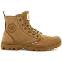 kengät Naiset Bootsit Palladium Manufacture Boots Pampa HI Zip Ruskeat
