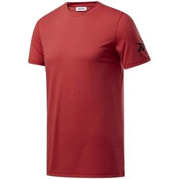 vaatteet Miehet Lyhythihainen t-paita Reebok Sport Wor WE Commercial Tee Tummanpunainen