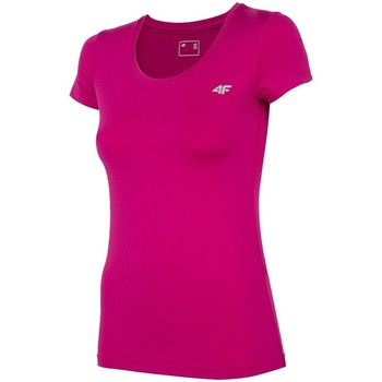 vaatteet Naiset Lyhythihainen t-paita 4F TSDF002 Vaaleanpunaiset