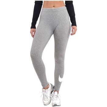vaatteet Naiset Legginsit Nike Wmns Club Logo Harmaat