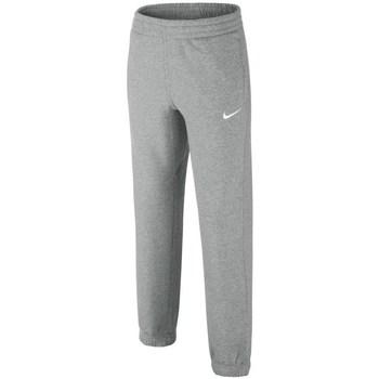 vaatteet Pojat Verryttelyhousut Nike Brushedfleece Cuffed Harmaat