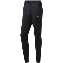 vaatteet Miehet Verryttelyhousut Reebok Sport Workout Knit Pant Mustat