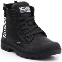 kengät Naiset Korkeavartiset tennarit Palladium Manufacture Pampa UBN ZIPS 96857-008-M black