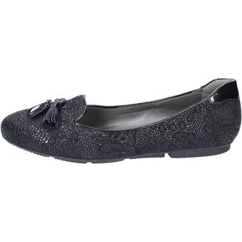 kengät Naiset Balleriinat Hogan Mocassini Camoscio Vernice Nero