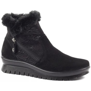 kengät Naiset Talvisaappaat Salamander Kia Booties Musta