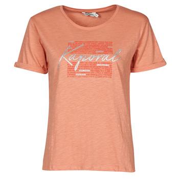 vaatteet Naiset Lyhythihainen t-paita Kaporal PUZZU Vaaleanpunainen