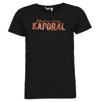 vaatteet Naiset Lyhythihainen t-paita Kaporal PENIN Musta