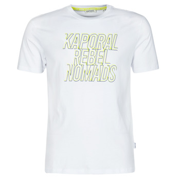 vaatteet Miehet Lyhythihainen t-paita Kaporal DARIN Valkoinen