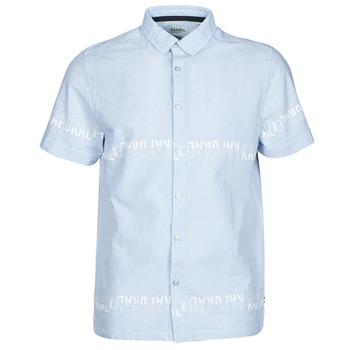 vaatteet Miehet Lyhythihainen paitapusero Kaporal STEVE Sininen