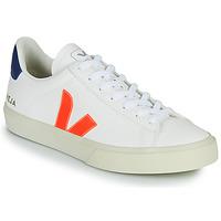 kengät Matalavartiset tennarit Veja CAMPO Valkoinen / Oranssi / Sininen