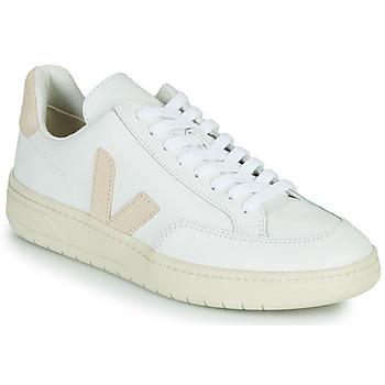 kengät Matalavartiset tennarit Veja V-12 Valkoinen / Beige