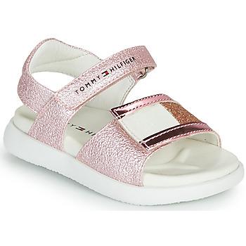 kengät Tytöt Sandaalit ja avokkaat Tommy Hilfiger EMIA Vaaleanpunainen