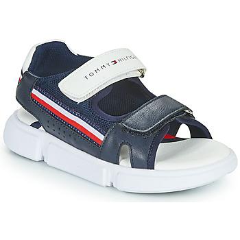 kengät Lapset Sandaalit ja avokkaat Tommy Hilfiger TIFFOU Sininen