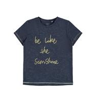 vaatteet Tytöt Lyhythihainen t-paita Name it NKFDEVIRA Laivastonsininen