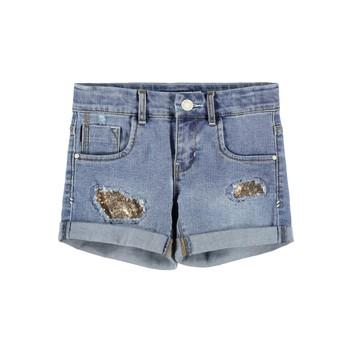 vaatteet Tytöt Shortsit / Bermuda-shortsit Name it NKFSALLI Sininen