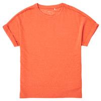 vaatteet Tytöt Lyhythihainen t-paita Name it NKFKYRRA Koralli