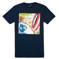 vaatteet Pojat Lyhythihainen t-paita Name it MARVEL Laivastonsininen