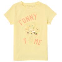 vaatteet Tytöt Lyhythihainen t-paita Name it NMFFEFA Keltainen