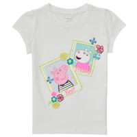 vaatteet Tytöt Lyhythihainen t-paita Name it PEPPAPIG Valkoinen