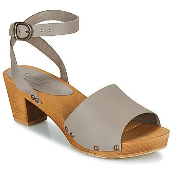 kengät Naiset Sandaalit ja avokkaat Sanita YARA Harmaa