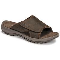 kengät Miehet Sandaalit Merrell SANDSPUR II SLIDE Ruskea