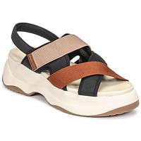 kengät Naiset Sandaalit ja avokkaat Vagabond Shoemakers ESSY Valkoinen / Musta