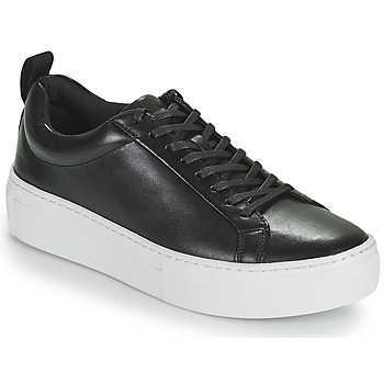 kengät Naiset Matalavartiset tennarit Vagabond Shoemakers ZOE PLATFORM Musta
