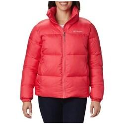 vaatteet Naiset Toppatakki Columbia Puffect Jacket Punainen
