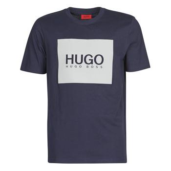 vaatteet Miehet Lyhythihainen t-paita BOSS DOLIVE Laivastonsininen