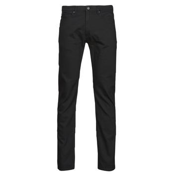vaatteet Miehet Slim-farkut HUGO HUGO Musta