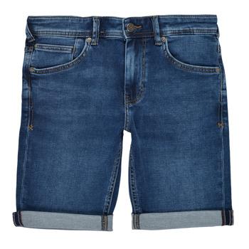 vaatteet Pojat Shortsit / Bermuda-shortsit Teddy Smith SCOTTY 3 Sininen / Tumma
