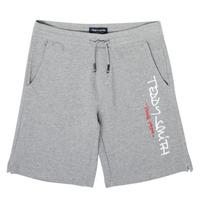 vaatteet Pojat Shortsit / Bermuda-shortsit Teddy Smith S-MICKAEL Harmaa