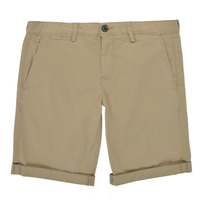 vaatteet Pojat Shortsit / Bermuda-shortsit Teddy Smith SHORT CHINO Beige