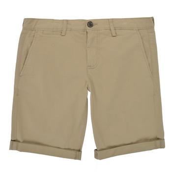 vaatteet Pojat Shortsit / Bermuda-shortsit Teddy Smith SHORT CHINO Beige